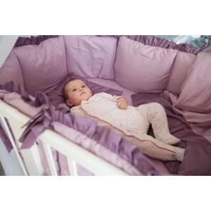 купить Комплект для круглой кроватки By Twinz 7 пр. Черничный Мусс по цене 4654.5 рублей