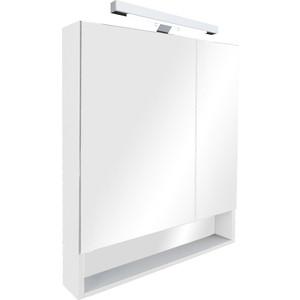 Зеркальный шкаф Roca Gap 80 белый глянец (ZRU9302887)