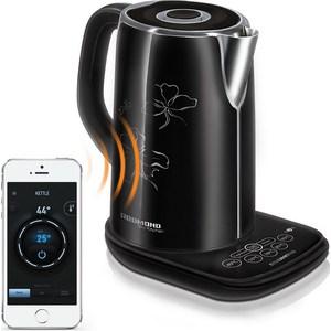 Чайник электрический Redmond RK-M170S-E черный цена и фото