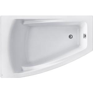 Акриловая ванна Roca Hall Angular 150х100 левая, каркас, слив-перелив
