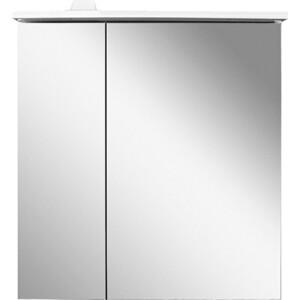 Зеркальный шкаф Am.Pm Spirit 2.0 60 правый, с подсветкой, белый (M70AMCR0601WG) зеркальный шкаф какса а астра 55 l 001838 с подсветкой белый