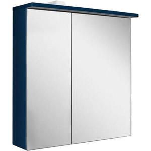 Зеркальный шкаф Am.Pm Spirit 2.0 60 правый, с подсветкой, глубокий синий (M70AMCR0601DM) зеркальный шкаф am pm spirit v2 0 60 с подсветкой l синий
