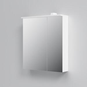 Зеркальный шкаф Am.Pm Spirit 2.0 60 левый, с подсветкой, белый (M70AMCL0601WG)