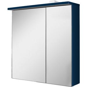 Зеркальный шкаф Am.Pm Spirit 2.0 60 левый, с подсветкой, глубокий синий (M70AMCL0601DM) зеркальный шкаф am pm spirit v2 0 60 с подсветкой l синий