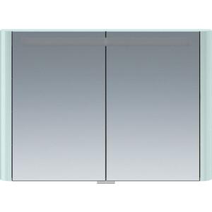 Зеркальный шкаф Am.Pm Sensation 100 с подсветкой, мятный (M30MCX1001GG) фото