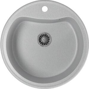 Фото - Кухонная мойка Mixline ML-GM09 49х49 серый 310 (4620031446385) кухонная мойка mixline ml gm10 44х44 серый 310 4630030632566