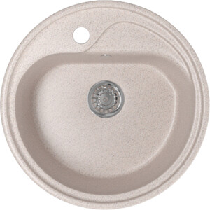 Кухонная мойка Mixline ML-GM10 44х44 песочный 302 (4630030632535)