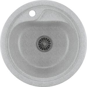 Кухонная мойка Mixline ML-GM10 44х44 серый 310 (4630030632566) цена