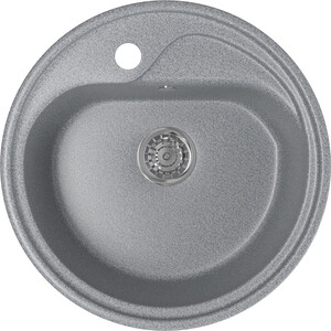 Кухонная мойка Mixline ML-GM10 44х44 темно-серый 309 (4630030632627) цена