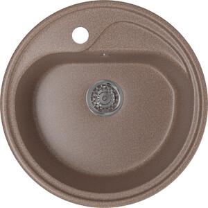Кухонная мойка Mixline ML-GM10 44х44 терракотовый 307 (4630030632689)