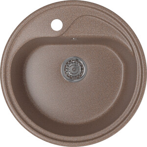Кухонная мойка Mixline ML-GM10 44х44 терракотовый 307 (4630030632689) цена
