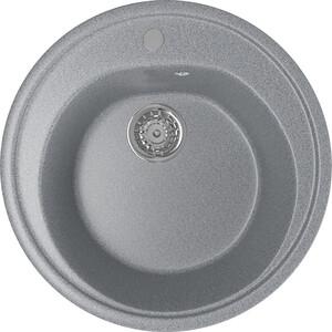 Фото - Кухонная мойка Mixline ML-GM11 50х50 темно-серый 309 (4630030632863) керамогранит 50х50 вудстоун 1 серый