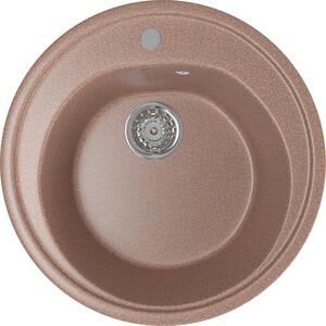 Кухонная мойка Mixline ML-GM11 50х50 терракотовый 307 (4630030632924) смеситель для кухни mixline ml gs04 терракотовый 307 4620031444138