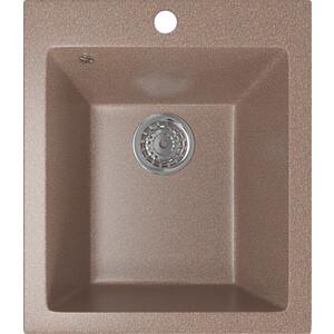 Кухонная мойка Mixline ML-GM14 42х49,5 терракотовый 307 (4630030633648) смеситель для кухни mixline ml gs04 терракотовый 307 4620031444138