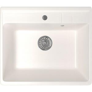 Кухонная мойка Mixline ML-GM15 55x49 белый 331 (4630030633945)