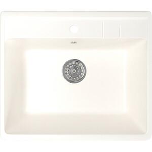 Кухонная мойка Mixline ML-GM15 55x49 молоко 341 (4620031442639)