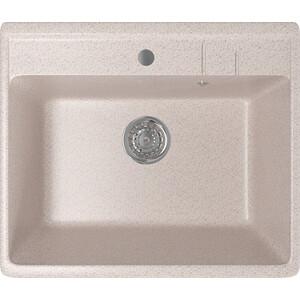 Кухонная мойка Mixline ML-GM15 55x49 песочный 302 (4630030633730)