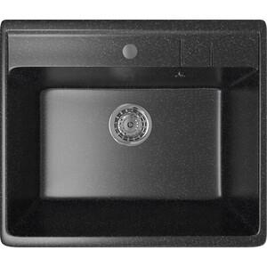 Кухонная мойка Mixline ML-GM15 55x49 черный 308 (4630030633792)