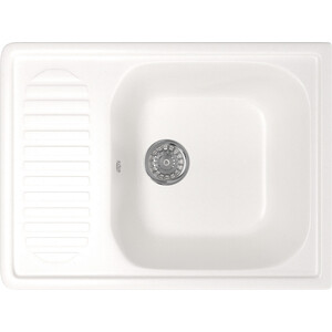 Кухонная мойка Mixline ML-GM18 64x49 белый 331 (4630030634669)
