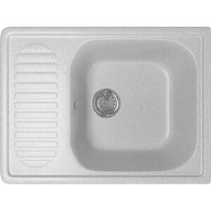 Кухонная мойка Mixline ML-GM18 64x49 серый 310 (4630030634485)