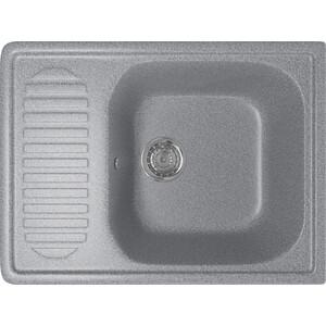 Кухонная мойка Mixline ML-GM18 64x49 темно-серый 309 (4630030634546)