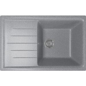 Кухонная мойка Mixline ML-GM19 49,5х75 темно-серый 309 (4630030634782)