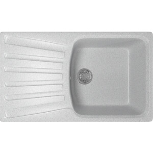 Кухонная мойка Mixline ML-GM20 48x83 серый 310 (4630030634966)