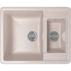 Фото - Кухонная мойка Mixline ML-GM21 60x48,5 песочный 302 (4630030635178) кухонная мойка mixline ml gm10 44х44 песочный 302 4630030632535