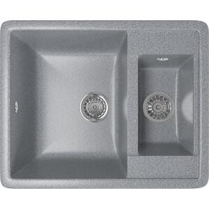 Кухонная мойка Mixline ML-GM21 60x48,5 темно-серый 309 (4630030635260)