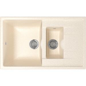 Кухонная мойка Mixline ML-GM22 77x49,5 бежевый 328 (4630030635598)