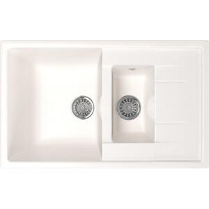 Кухонная мойка Mixline ML-GM22 77x49,5 молоко 341 (4620031442844)