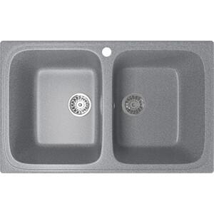 Кухонная мойка Mixline ML-GM23 77,5x49,5 темно-серый 309 (4630030635741)