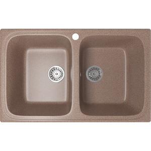 Кухонная мойка Mixline ML-GM23 77,5x49,5 терракотовый 307 (4630030635802)