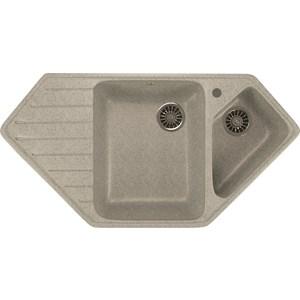 Кухонная мойка Mixline ML-GM25 97x50 серый 310 (4630030636168)