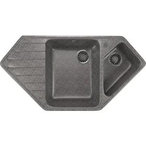 Кухонная мойка Mixline ML-GM25 97x50 темно-серый 309 (4630030636229)