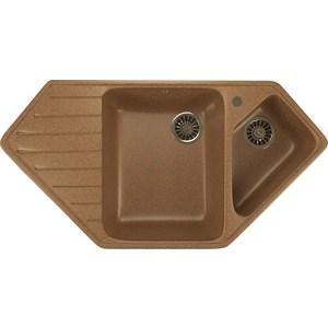 Кухонная мойка Mixline ML-GM25 97x50 терракотовый 307 (4630030636281) смеситель для кухни mixline ml gs04 терракотовый 307 4620031444138