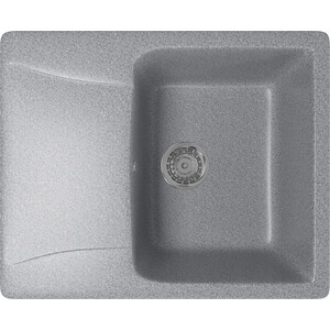 Кухонная мойка Mixline ML-GM26 58x47 темно-серый 309 (4630030636465) фото