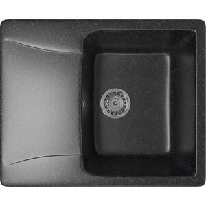 Кухонная мойка Mixline ML-GM26 58x47 черный 308 (4630030636434)