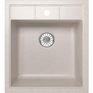 Фото - Кухонная мойка Mixline ML-GM28 44,5х50 песочный 302 (4620031446620) кухонная мойка mixline ml gm10 44х44 песочный 302 4630030632535