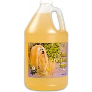 Шампунь 1 All Systems Super Cleaning & Conditioning Shampoo суперочищающий для кошек и собак 3,78л