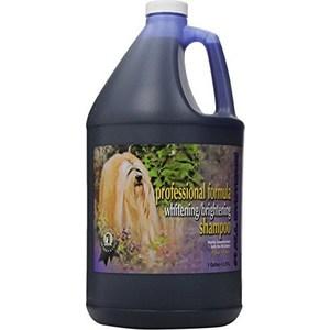 Шампунь 1 All Systems Professional Formula Whitening / Brightening Shampoo отбеливающий для яркости окраса шерсти кошек и собак 3,78л