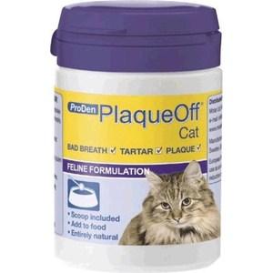 Средство ProDen PlaqueOff Cat для профилактики зубного камня у кошек 40г