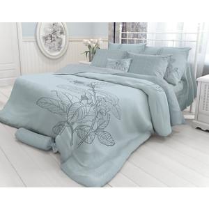 купить Комплект постельного белья Verossa 2-х сп, Indigo Grain, наволочки 70x70 (717548) по цене 2456.5 рублей