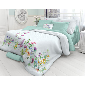 купить Комплект постельного белья Verossa 2-х сп, перкаль, Shamrok, 2 наволочки 70x70 (718693) по цене 2456.5 рублей