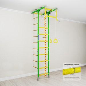 Детский спортивный комплекс Romana Kometa 1 (ДСКМ-2-8.06.Т.490.18-08) зелёное яблоко