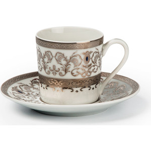 Набор кофейных пар 0.1 л 12 предметов La Rose des Sables Mimosa (539012 1647)
