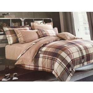 Комплект постельного белья Do and Co Евро, сатин, Hayal (9419) все цены