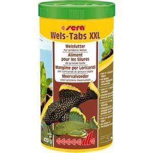 Корм SERA Wels Tabs XXL for CatFish тонущие таблетки для сомов и донных рыб 1л (420г) запчасти wels gold 200