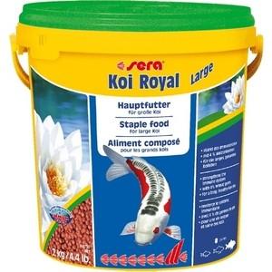 Корм SERA KOI ROYAL LARGE Staple Food for Large Koi гранулы для крупных кои 10л (2кг) цена 2017