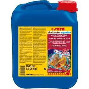 Купить Кондиционер SERA BLACKWATER AQUATAN Water Conditioner with Blackwater Effect с эффектом черной воды для воды в аквариумах 5л